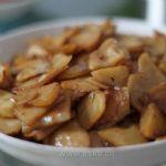 酱油干煸土豆片