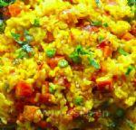西式番红花炒饭的做法