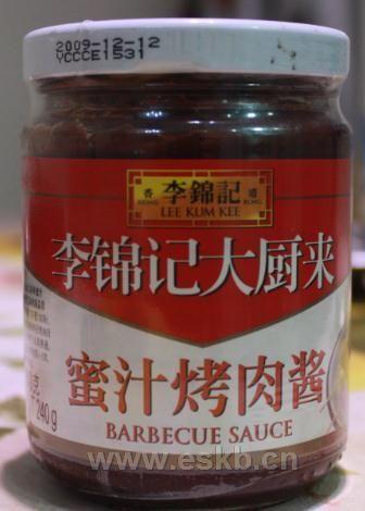 李锦记秘制烤肉酱